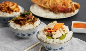 Suki noodles Bar: Aziatisch driegangenmenu voor 2 of 4 personen vanaf € 24,99 bij Suki noodles