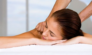 Healing Eden Holistic Center: Massage with Infrared Sauna Session or Two Massages at Healing Eden Holistic Center (Up to 51% Off)