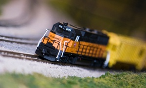 The Big Train Show: Two or Four Adult Tickets with Parking at The Big Train Show (Up to 56% Off)