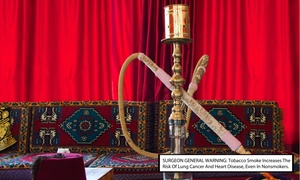 Hoookahmania: $13 for $25 Worth of Hookah, Food, and Non-Alcoholic Drinks at Hoookahmania