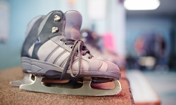 Ice Vault - Wayne: Admission to Public Ice Skating with Rental Skates for Two or Four at Ice Vault (Up to 50% Off)