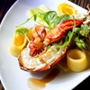 Menu homard succulent 5 services