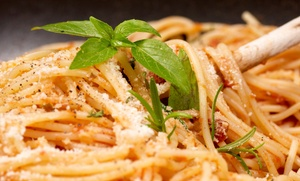 Soprano Hotels: Two-Course Italian Mean with for Two or Four at Soprano Hotels (Up to 54% Off)