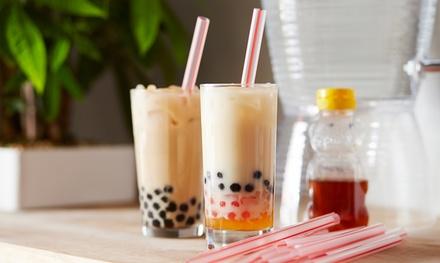 2 o 4 bubble tea, tés con leche o zumos de temporada desde 3,99 € en GuGuTé