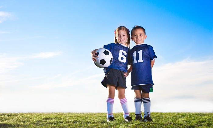 Kiddie Soccer: Eight-Week Spring Soccer Program for Kids on Weekdays or Weekends from Kiddie Soccer (Up to 50% Off)
