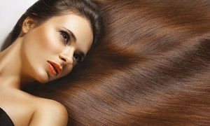 Mood Beauty Centre: Beauty Package Including Keratin Treatment, Hair Trim, Manicure, and Pedicure at Mood Beauty Centre (Up to 86% Off)
