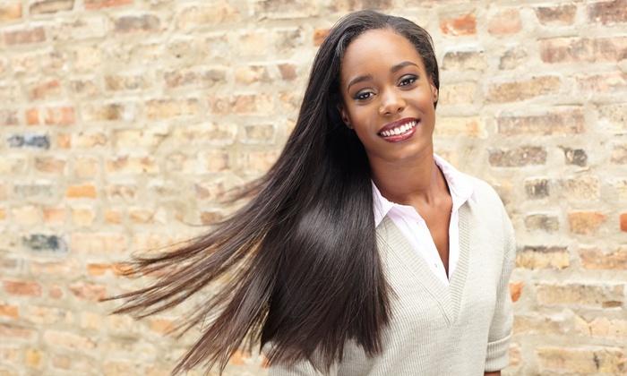 Xena Salon - Brandon: Haircut, Blowout, and Style, or Brazilian Blowout at Xena Salon (Up to 42% Off)