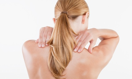 $49 for Chiropractic Exam Package with Manual Soft-Tissue Therapy at Heath Chiropractic ($222 Value)