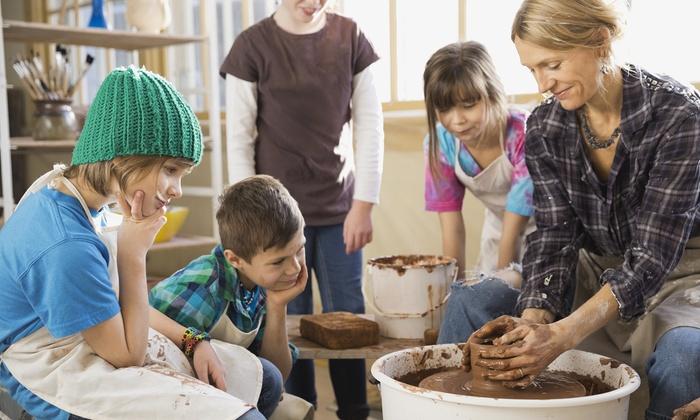 Dottie's Art Studio - Plainfield: One Week of Kids' Art Camp for One or Two at Dottie's Art Studio (up to 50% Off)
