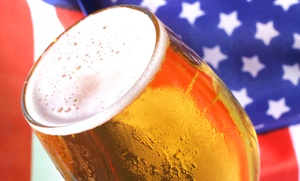 Red White & Brews Epic-Bar-Crawl: Entry for Two or Four to the Red, White & Brews Bar Crawl on Saturday, July 4 (Up to 50% Off)