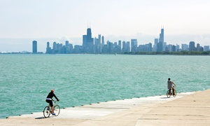 Bike and Roll Chicago: $35 for a Bike and Yoga Tour for One from Bike and Roll Chicago ($60 Value)