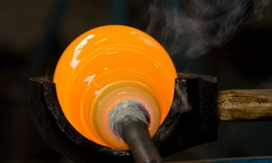Green Devil Glass Studio: Two-Hour Introductory Glass-Blowing Class for One or Two at Green Devil Glass Studio (Up to 46% Off)