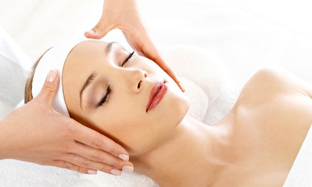 One or Two 60-Minute Custom Facials at Wrapped in Wellness (Up to 71% Off)