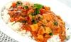 Takeaway Indian Lunch