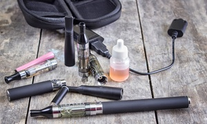 E Cigarettes 4 Life: $10 for $20 Toward E-Cigarette and Accessories at E Cigarettes 4 Life.