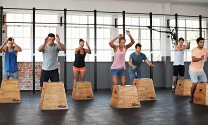 image for One Month of Unlimited CrossFit <strong>Boot</strong> Camp or Strength And Conditioning at The Training Pit (Up to 77% Off)