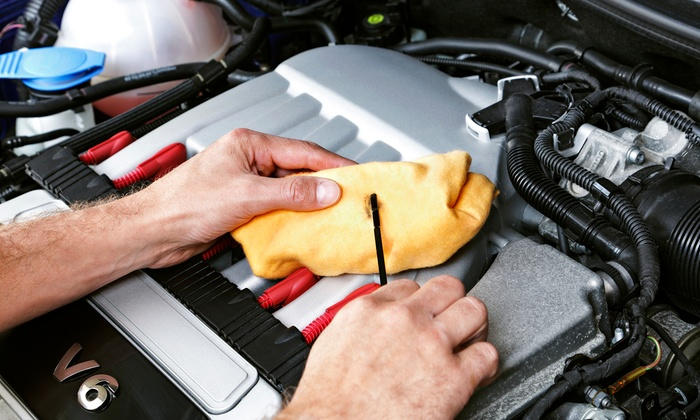 AutoStream Car Care - Multiple Locations: $59 for Standard Oil Change and 27-Point Inspection Package at AutoStream Car Care ($135 Value)