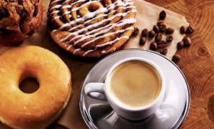 Donut Star: Coffee and Donuts at Donut Star (Up to 45% Off). Two Options Available.