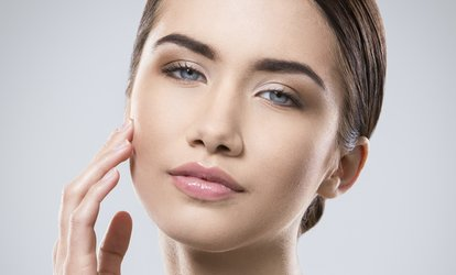 Noninvasive Facelift for Full <strong>Face</strong> with Optional Neck and Decolette at Aestethic Medicine Center (Up to 55% Off)