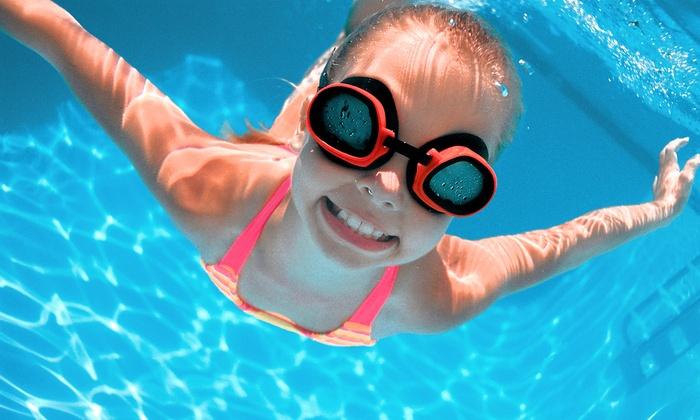 British Swim School - Farmingdale: $109 for Eight Swimming Lessons with Registration and Swim Cap at British Swim School ($231 Value)