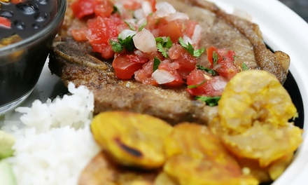 Cuban Dinner for Two or Four at Palomilla's Grill House (33% Off)