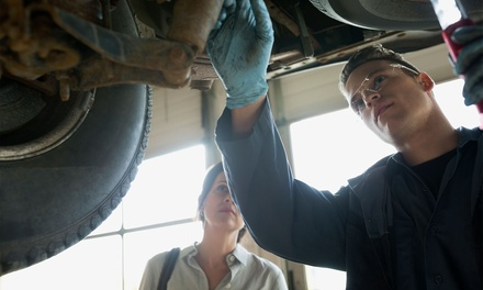 Car MOT or Service with Oil and Filter Change at Collison Motoring Services (Up to 58% Off)