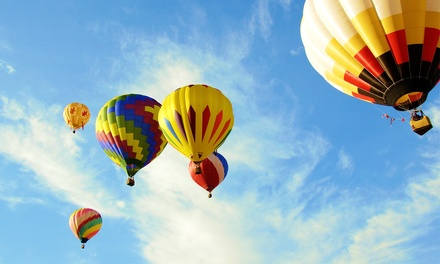 $159 for a Sunrise Hot Air Balloon Ride with Champagne for One from Denver Hot Air Ballooning ($289.99 Value)