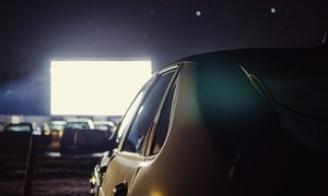 Moonlight Drive-in Cinema: Admission for One Car at Moonlight Drive-in Cinema (Up to 48% Off)