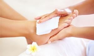 Ästhetische Kosmetik und Fußpflege: 1x oder 2x 45 Min. Pediküre mit Peeling und Fußreflexzonenmassage bei Ästhetische Kosmetik und Fußpflege