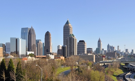 groupon daily deal - Stay at Wyndham Atlanta Galleria in Atlanta, with Dates into September