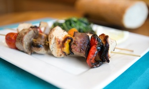 Taza Mediterreanan Grill: Mediterranean Food for Lunch or Dinner at Taza Mediterranean Grill (Up to 43% Off)