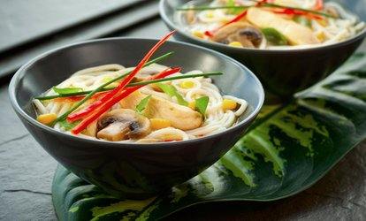 Asian Cuisine for Lunch or Dinner at Tea Tree Asian Bistro (Up to 30% Off).