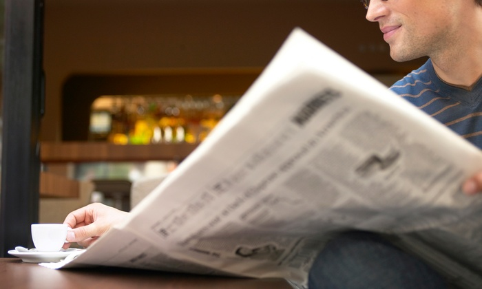 """The Fresno Bee - Fresno: $30 for One-Year Sunday Subscription to """"The Fresno Bee"""" ($243 Value)"""