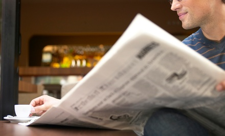 "$30 for One-Year Sunday Subscription to ""The Fresno Bee"" ($243 Value)"