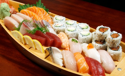 Cuisine at Sapporo II Japanese Korean Restaurant (Up to 75% Off). Three Options Available.