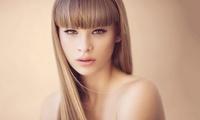 Damenfriseur-Paket mit Haarpflege, Oolaboo Produkten und optional Tages-Make-up bei WINGS hair & beauty (51% sparen*)