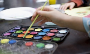 Splatter Kreations: Four or Eight Weekly Mommy and Me Children's Enrichment Classes at Splatter Kreations (Up to 52% Off)