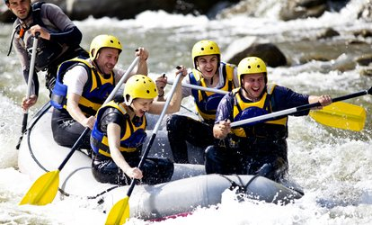 image for Full Day Vermilion <strong>Rafting</strong> Trip from Discovery Center (Up to 51% Off)