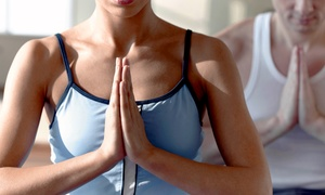 Peaceful Juicy Being: 5 or 10 Yoga Classes at Peaceful Juicy Being (Up to 54% Off)
