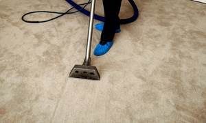 Cleveland Steamer: All-Natural Carpet Cleaning for Three or Five Rooms from Cleveland Steamer (Up to 60% Off)