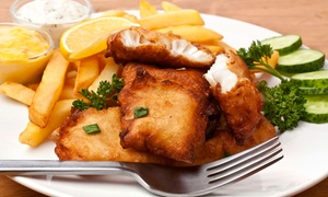 Fishery Station: Seafood and Sandwiches at Fishery Station (Up to 46% Off). Two Options Available.
