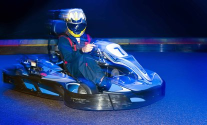50 Laps of Indoor Karting for One, Two or Four with Optional Two Games of Laser Tag at Alvar Karting & Laser Centre