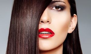 Tharie at Tress: Haircut with Optional Color or Keratin Smoothing Treatment at Tharie at Tress (Up to 64% Off)