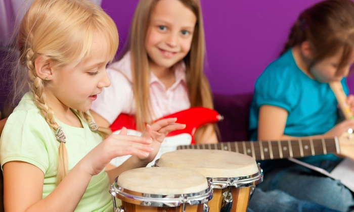 Expressions Music Academy - Multiple Locations: Four or Eight 30-Minute Kids' Music Classes at Expressions Music Academy (Up to 63% Off)