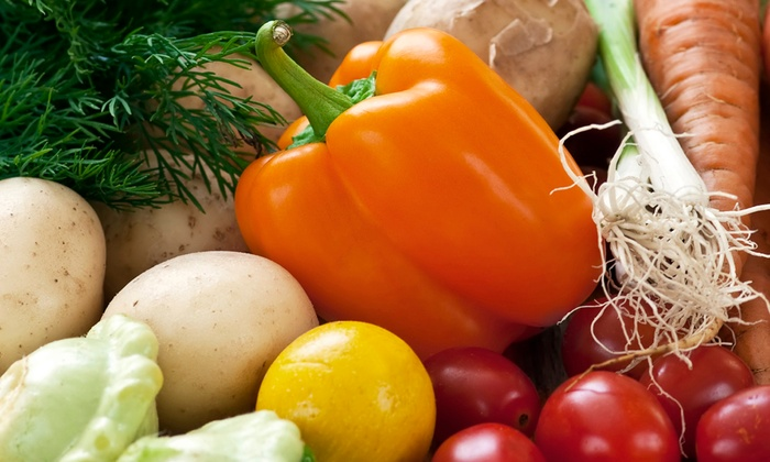 Good News Farm - Multiple Locations: $11 for $22 Toward One Standard Box of Local, Organic, Seasonal Produce for Pick-Up from Good News Farm