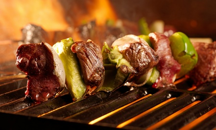 AllYouCanEat Brazilian Barbeque with Caipirinha Cocktail for One at Rodizio Rico O2