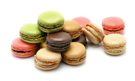$44 for a Set of 36 Imported French Macaroons from Green Cuisine ($120 Value)