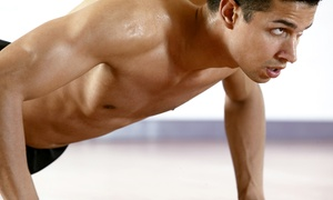 LOS Fitness LLC: 10 or 20 Boot-Camp Classes Plus Meal Plans at LOS Fitness (Up to 78% Off)