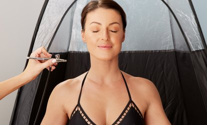One, Two, or Three Airbrush <strong>Tanning</strong> Sessions at Airbrush by Ashley (Up to 53% Off)