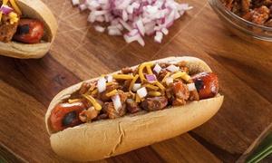 Talio Pitalio: 2 wybrane hot-dogi za 20,99 zł i więcej opcji w Talio Pitalio w Sosnowcu (do -36%)
